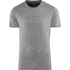 Icebreaker Tech Lite SS Crew Top Men, gritstone heather